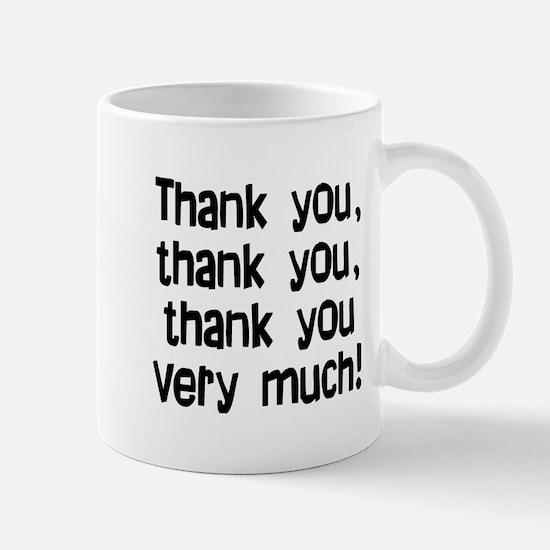 thank you thank you Mug