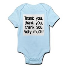 thank you thank you Infant Bodysuit