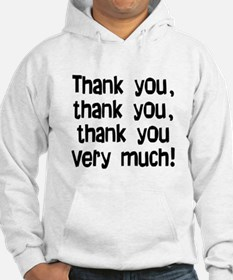 thank you thank you Jumper Hoody