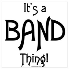 It's a Band Thing! Framed Print