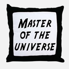 master of the universe Throw Pillow