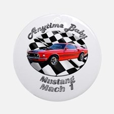 Ford Mustang Mach 1 Ornament (Round)