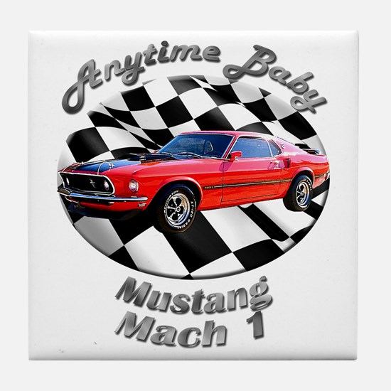 Ford Mustang Mach 1 Tile Coaster