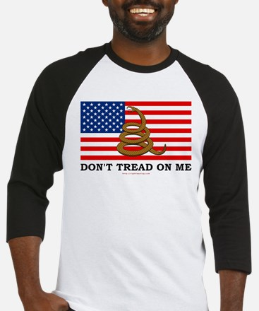 Don't Tread on Me Baseball Jersey