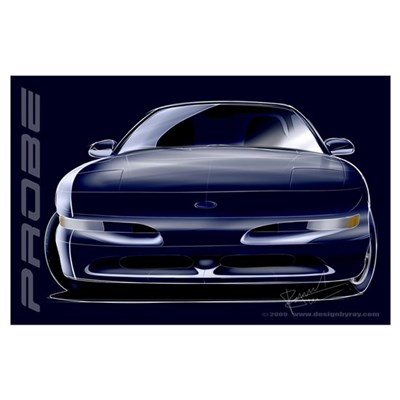 Ford Probe Poster