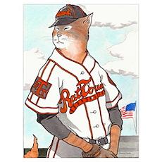 Rat Town Tigers Poster