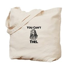 You Can't Handel This Tote Bag