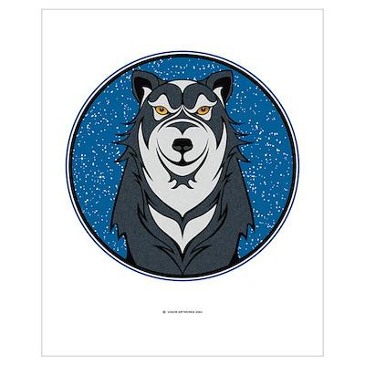 Wolf-Clan Design. Poster