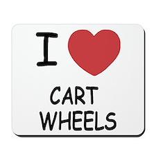 I heart cartwheels Mousepad