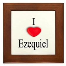 Ezequiel Framed Tile