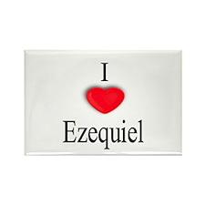 Ezequiel Rectangle Magnet (100 pack)