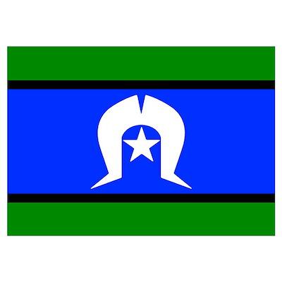 Torres Strait Islander Flag Poster