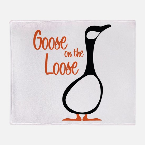 New Goose Throw Blanket