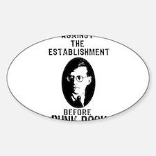 Shosty Anti Establishment Decal