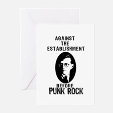 Shosty Anti Establishment Greeting Cards (Pk of 20