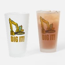 Dig It! Drinking Glass