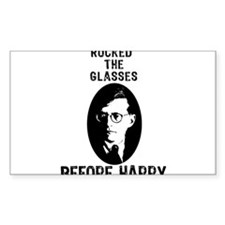 Shosty Rocked the Glasses Bef Decal