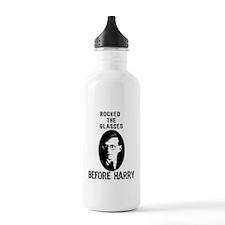 Shosty Rocked the Glasses Bef Water Bottle