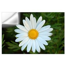 White Daisy Wall Decal