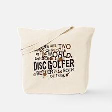 Disc Golfer (Funny) Gift Tote Bag