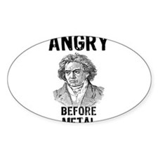 Beethoven: Angry Before Metal Decal