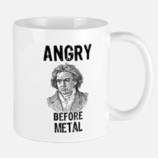 Beethoven: Angry Before Metal Mug