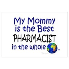 Best Pharmacist In The World (Mommy) Canvas Art