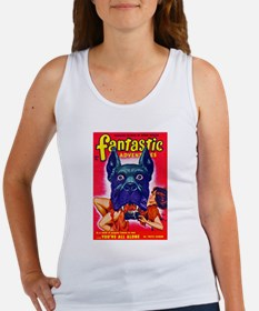 Fantastic Big Dog Cover Art Women's Tank Top