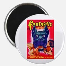 Fantastic Big Dog Cover Art Magnet