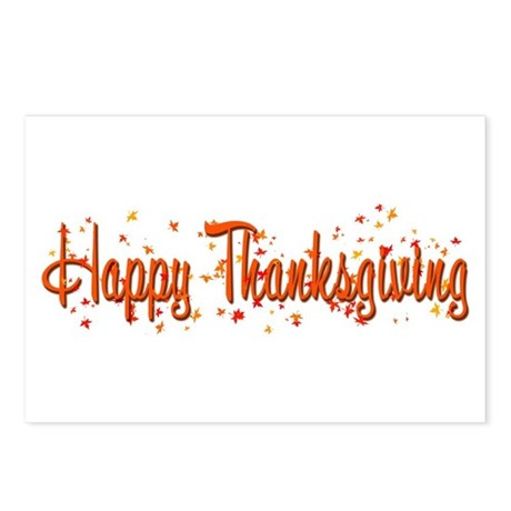 Happy Turkey Day! Postcards (Package of 8)