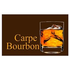 Carpe Bourbon Poster