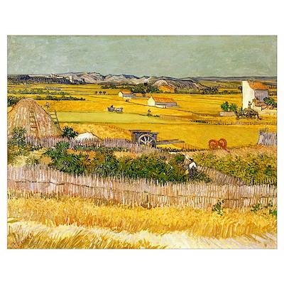Van Gogh The Harvest Poster