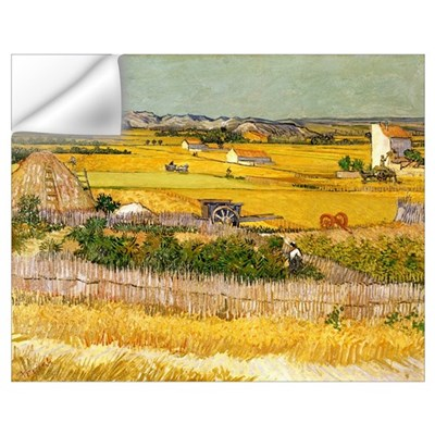 Van Gogh The Harvest Wall Decal
