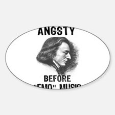 Chopin: Angsty before Emo Mus Decal