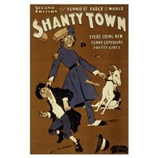 SHANTY TOWN 11x17 Poster