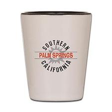Palm Springs California Shot Glass