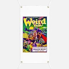 Weird Dragon Monster Cover Art Banner
