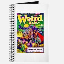 Weird Dragon Monster Cover Art Journal