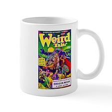 Weird Dragon Monster Cover Art Mug