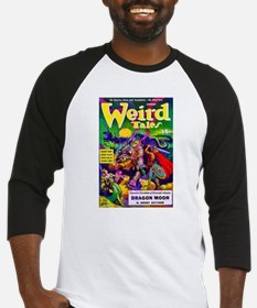 Weird Dragon Monster Cover Art Baseball Jersey