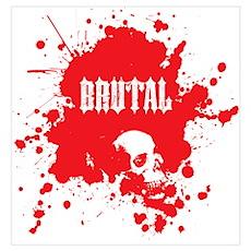 Brutal Blood Poster
