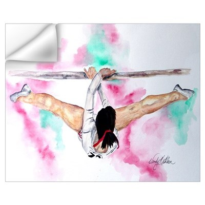 Gymnastics Bars Wall Decal