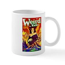 Weird Demon Woman Cover Art Mug
