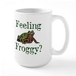 Feeling Froggy? Large Mug
