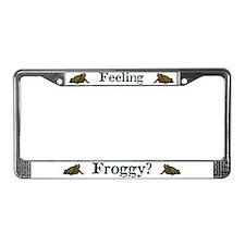 Feeling Froggy? License Plate Frame