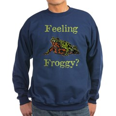 Feeling Froggy? Sweatshirt