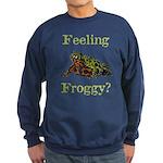 Feeling Froggy? Sweatshirt (dark)