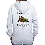 Feeling Froggy? Women's Zip Hoodie