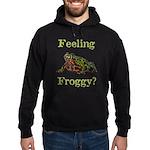 Feeling Froggy? Hoodie (dark)