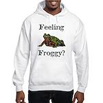 Feeling Froggy? Hooded Sweatshirt